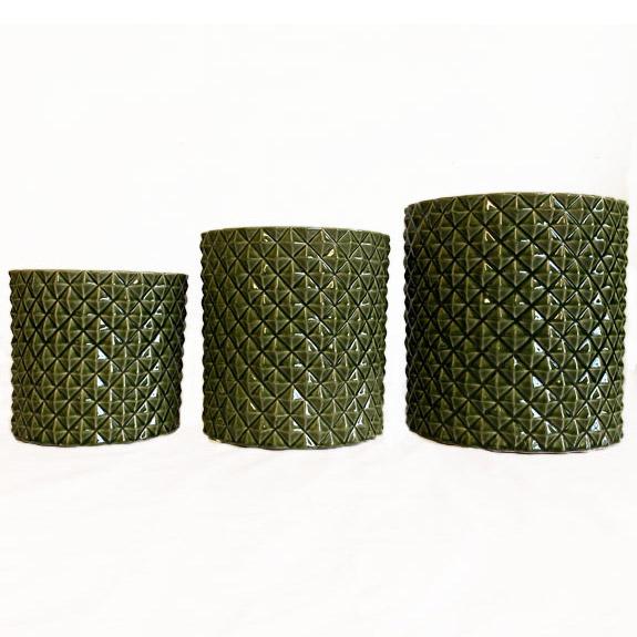 [Garden Pots] Pineapple Pot Green