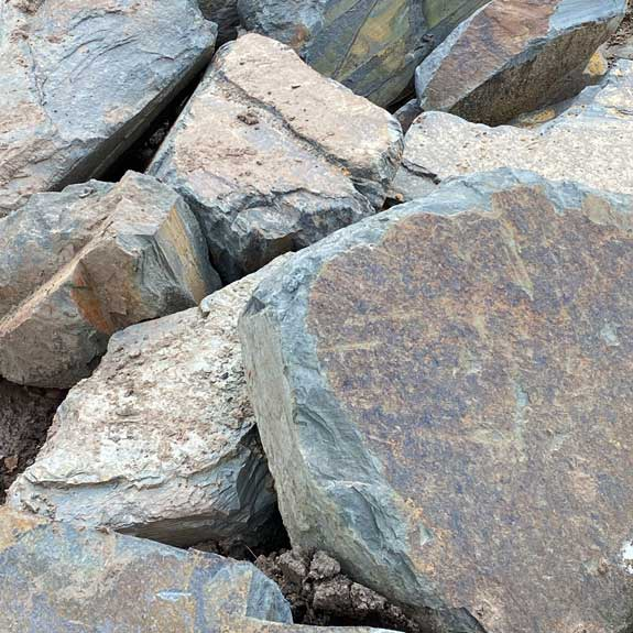 [Pebbles, Rocks and Gravel] Slate Rocks