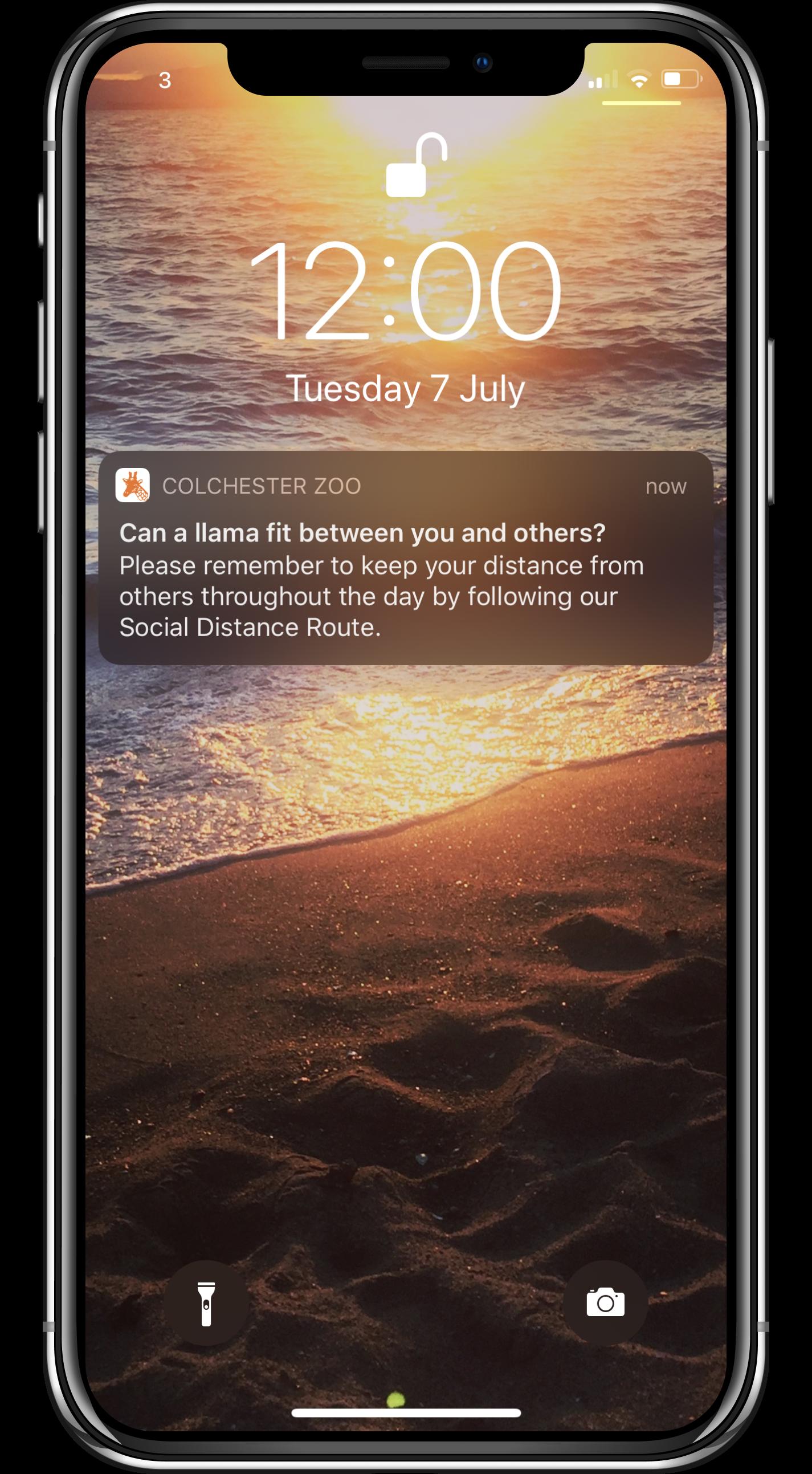 on site communication zoo app