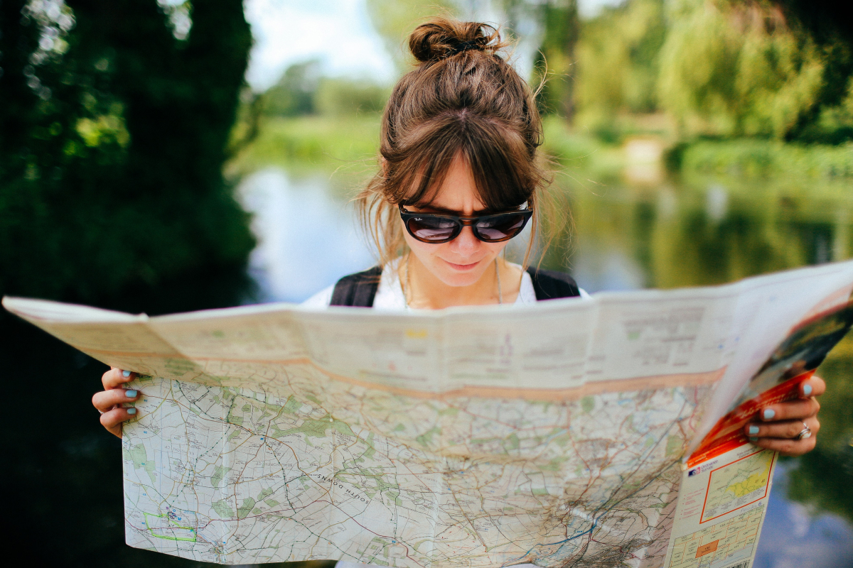 Replacing paper maps with mobile apps