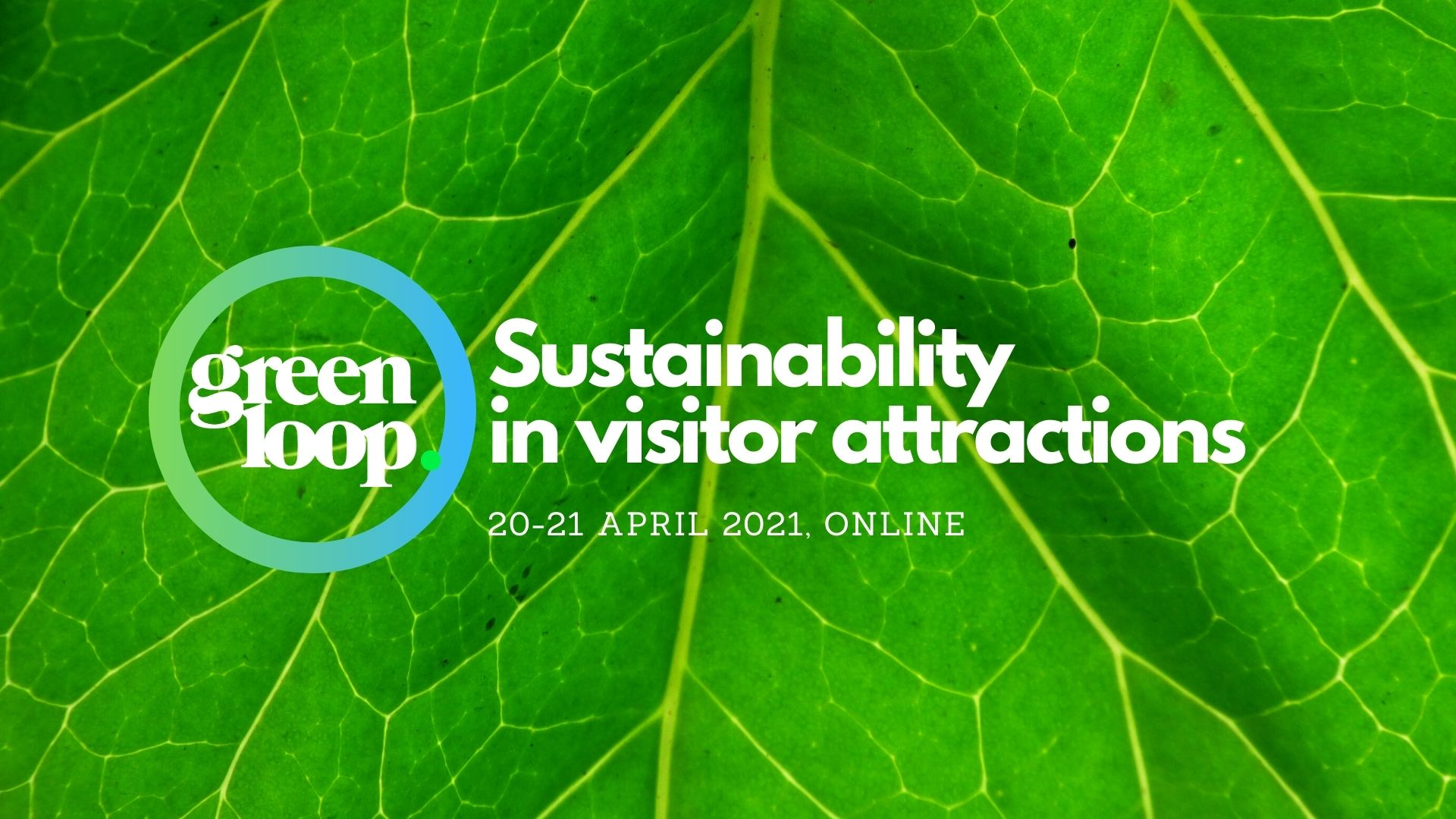 banner for greenloop sustainability in visitor attractions conference