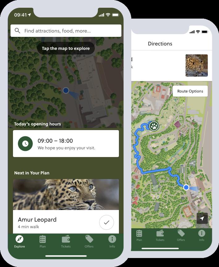 San Diego Zoo Way-finding App