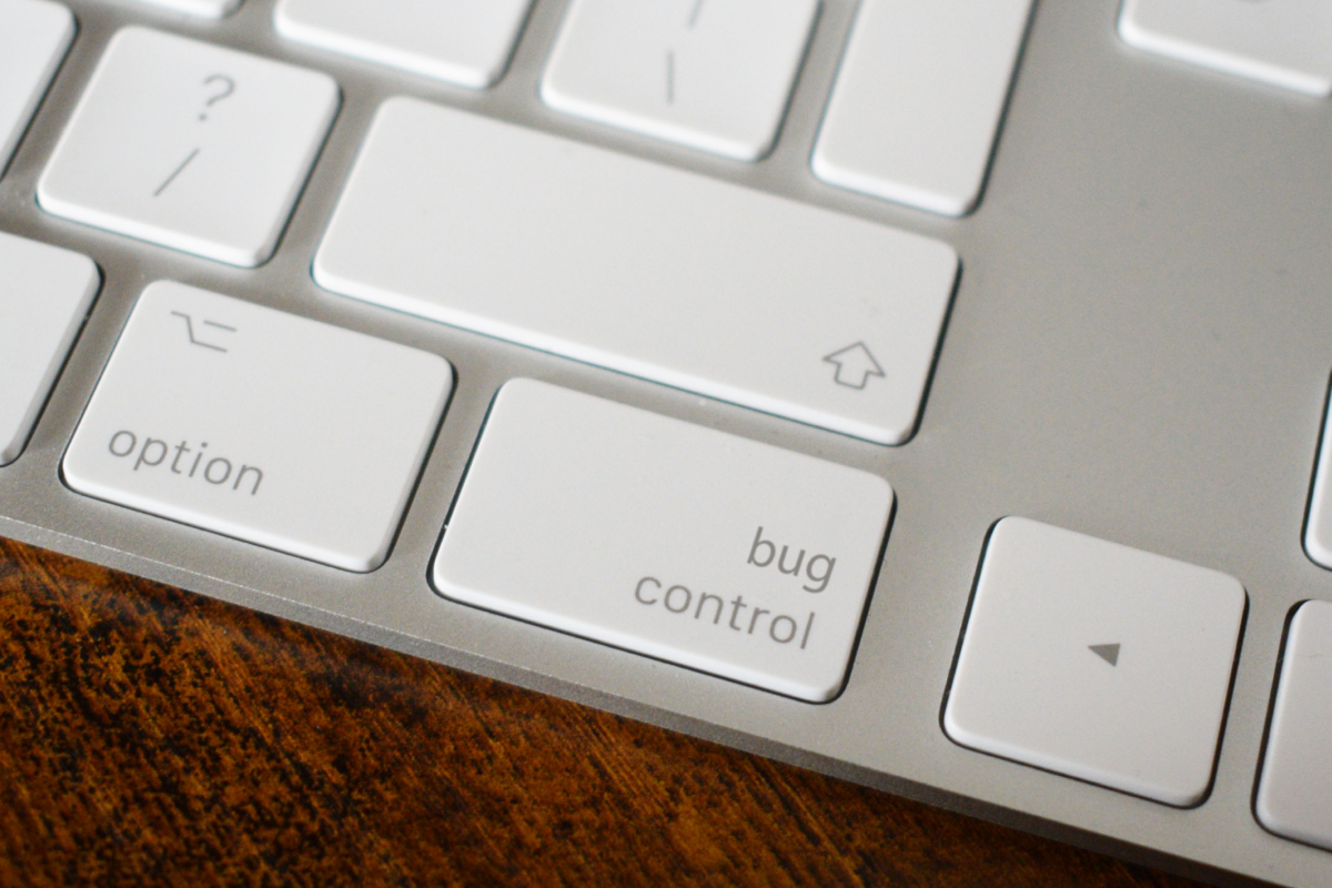 bug control keyboard