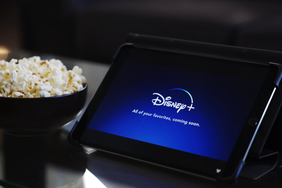 Disney+ on iPad
