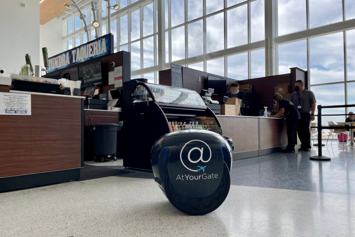 A robot could now deliver your food to you!