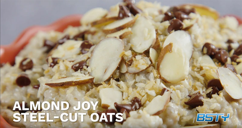 Almond Joy Steel Cut Oats