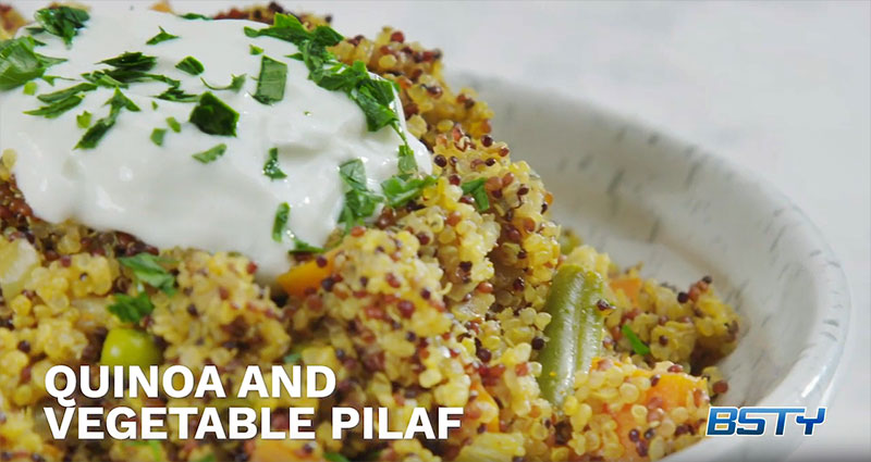 Quinoa & Vegetable Pilaf