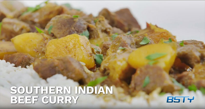 Southern Indian Beef Curry