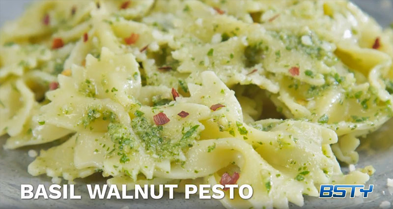 Basil Walnut Pesto
