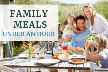 Family meals to make in under an hour