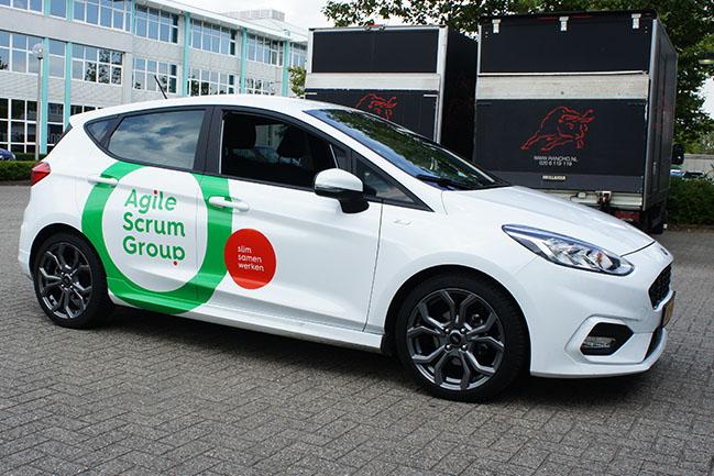 agile scrum group personenauto groot