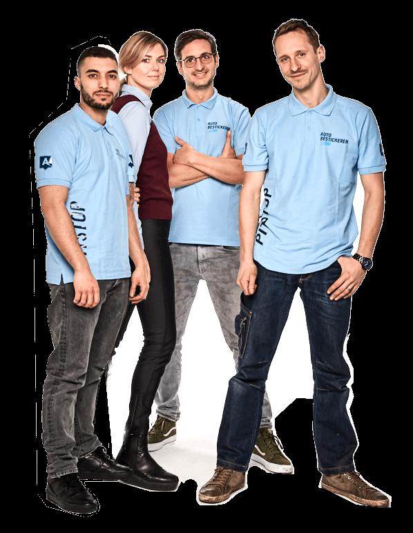Autobestickering team