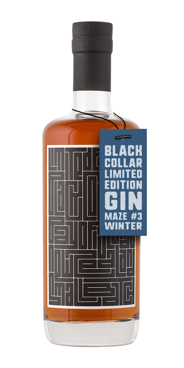 Black Collar Limited Edition Gin - winter