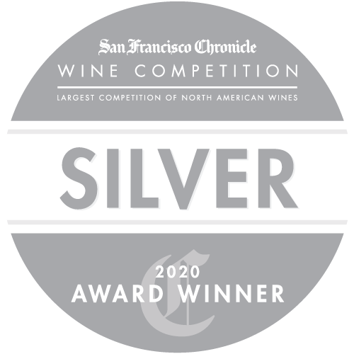 San Francisco Chronicle Wine Competition 2020 Silver Medal winner