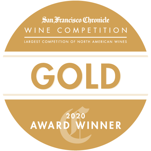 San Francisco Chronicle Wine Competition 2020 Gold Medal winner