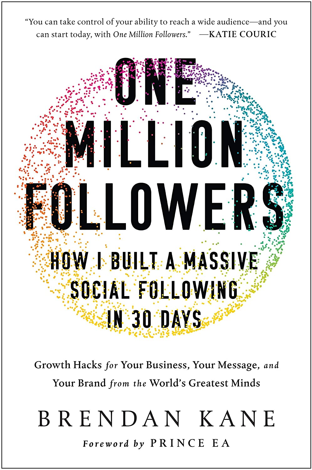 Amazon.com : (Hardcover) [Brendan Kane] One Million Followers: How I Built  a Massive Social Following in 30 Days : Office Products