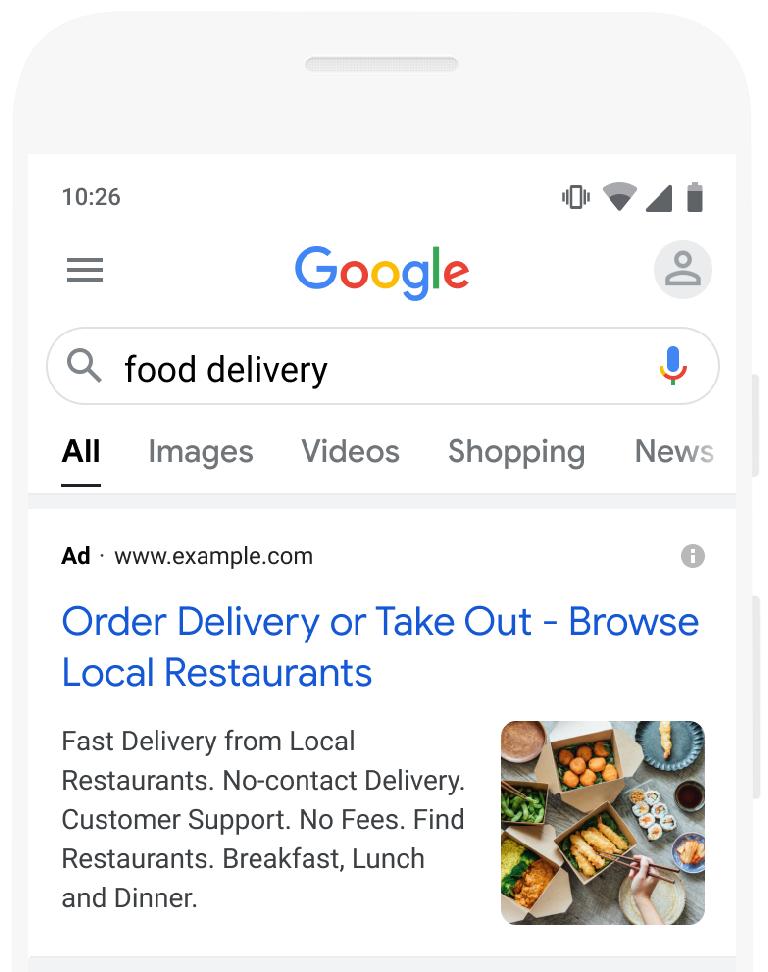 Publique anuncios de búsqueda atractivos con extensiones de imagen - Ayuda  de Google Ads