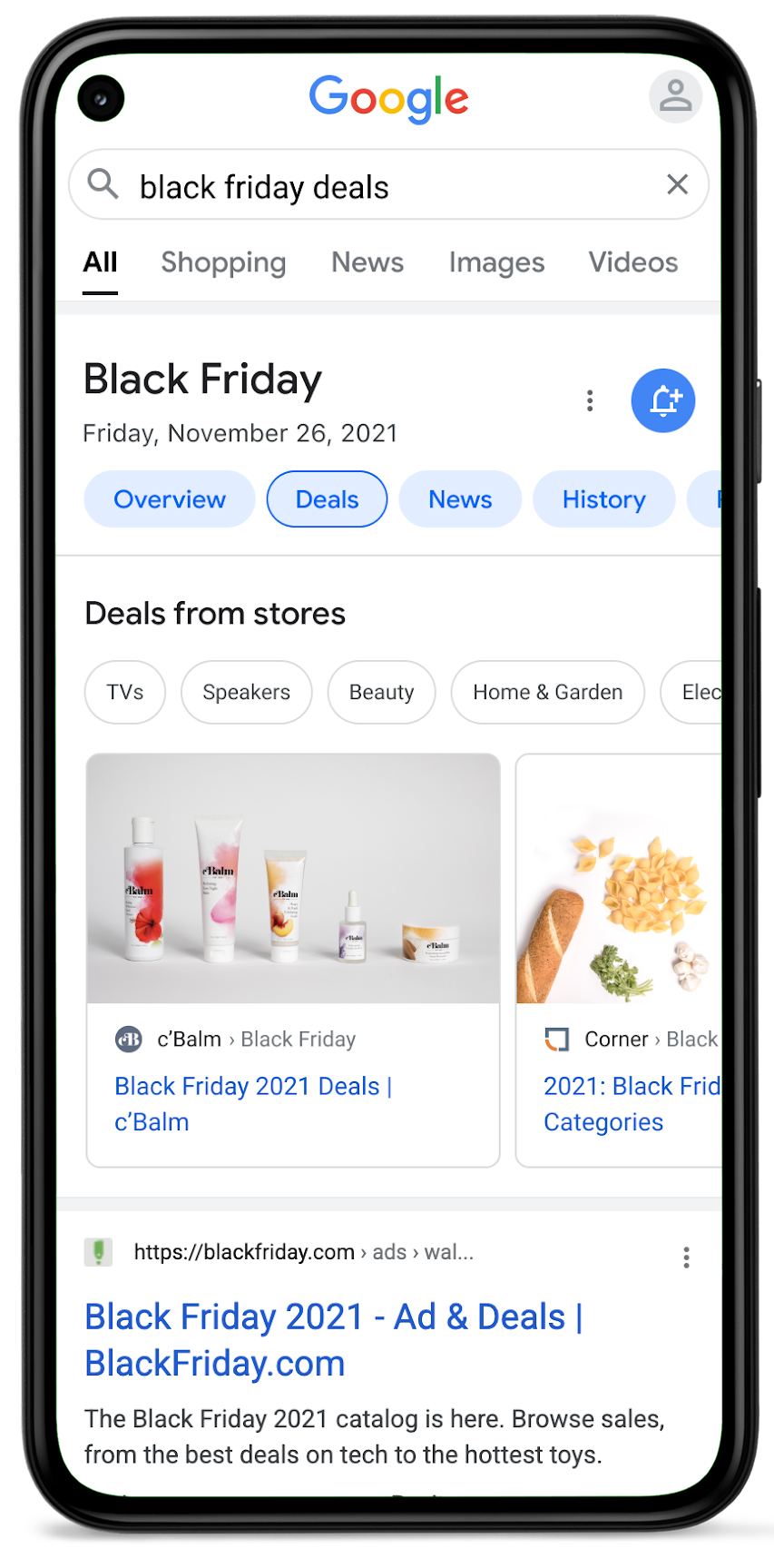 Engage shoppers with deal pages in Google Search