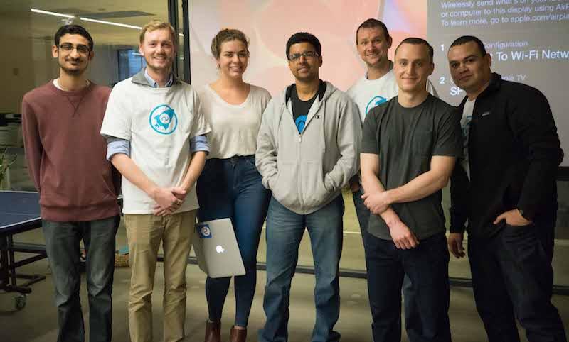 Narvar Innovation Day - the winning team