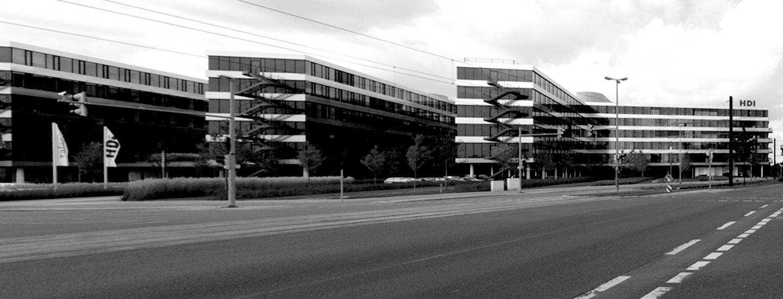 Hauptverwaltung HDI, Hannover, Büro, Verwaltung, Witte Projektmanagement, Projektsteuerung, Prozess- und Inhouse-Management