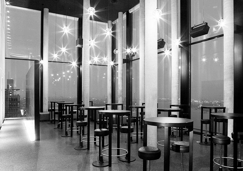 Bar 21up Empire Riverside Hotel Hamburg Witte Projektmanagement