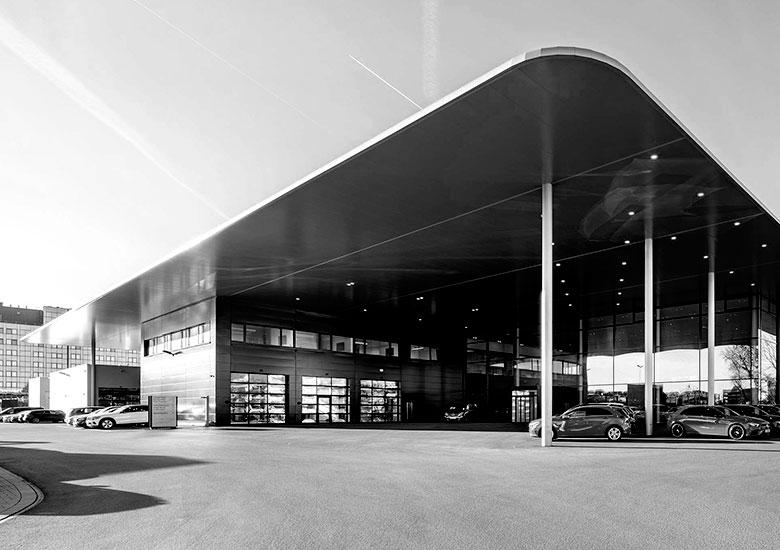 Neue Markenarchitektur Mercedes-Benz Witte Projektmanagement
