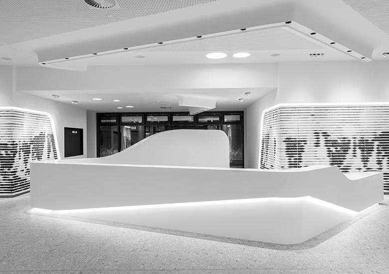 Helle, offen gestaltete Arbeitswelt Hamburg Euler Hermes Witte Projektmanagement Quantum