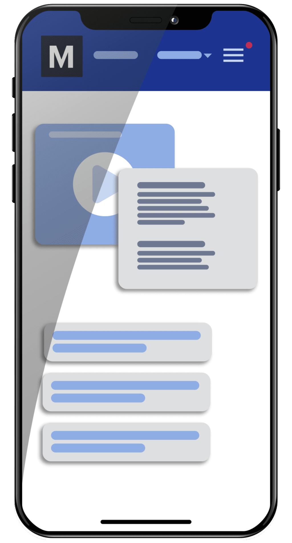 Medify on mobile phone