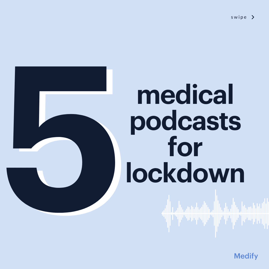 Top 5 medical podcasts to learn about the world of medicine