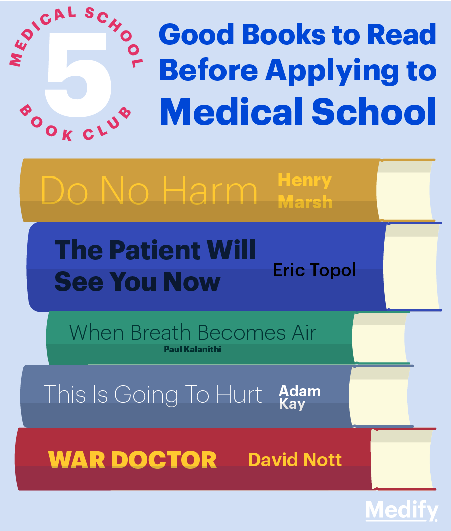 Good books to read before applying to medical school