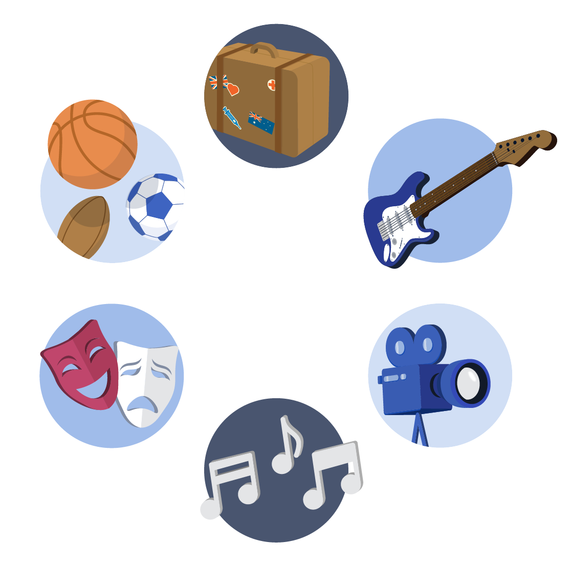 Examples of extra-curricular activities