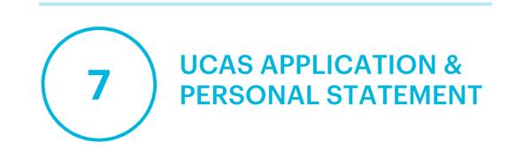 UCAS Application & Personal Statement
