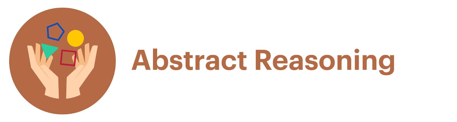 UCAT Abstract Reasoning (AR) icon.