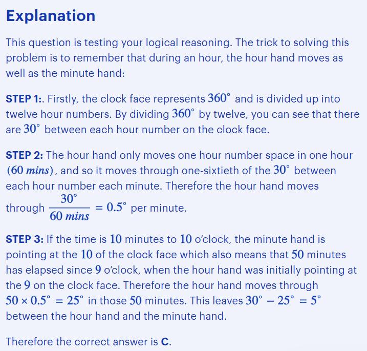 BMAT problem-solving questions type - finding procedures explained