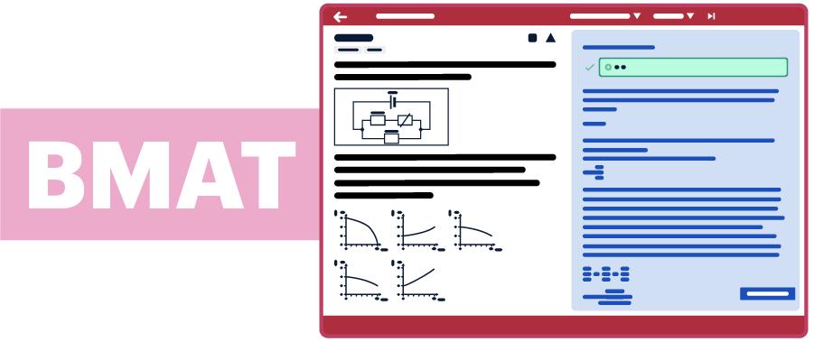 BMAT test illustration