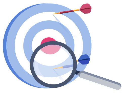 Medify target illustration