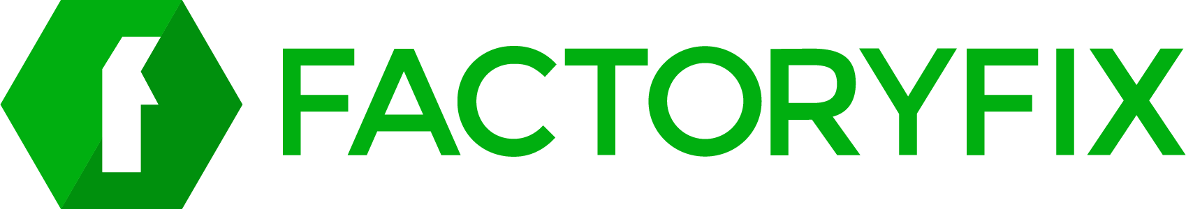 FactoryFix Logo Wordmark