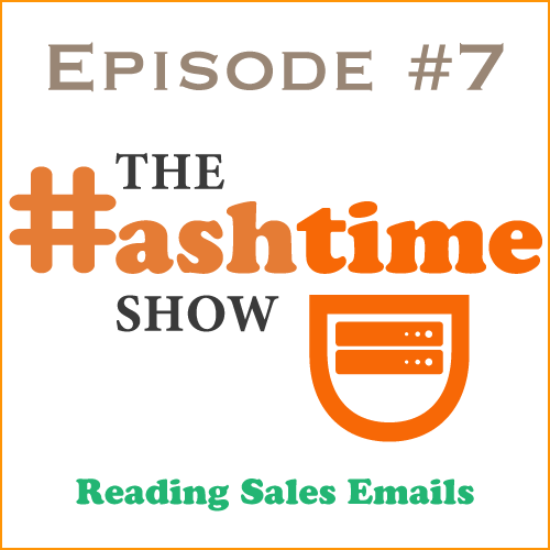 Episode #7 - Reading Sales Emails