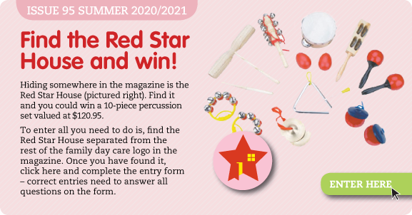Find the Red Star House and win!