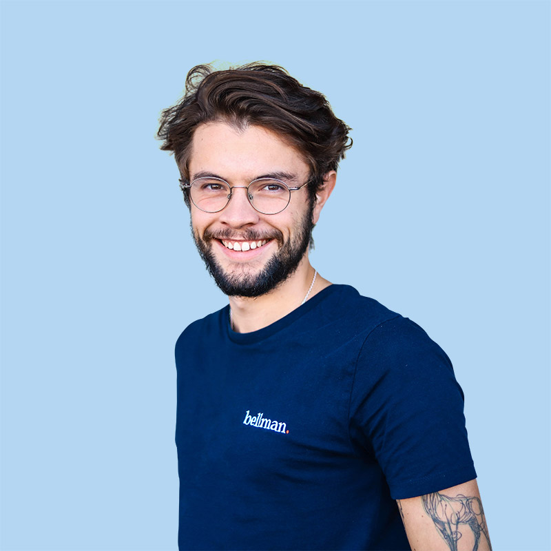 Portrait de Jorrys, gestionnaire Bellman