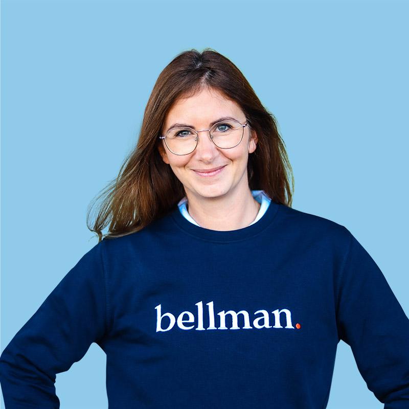 Portrait de Vanessa, gestionnaire Bellman