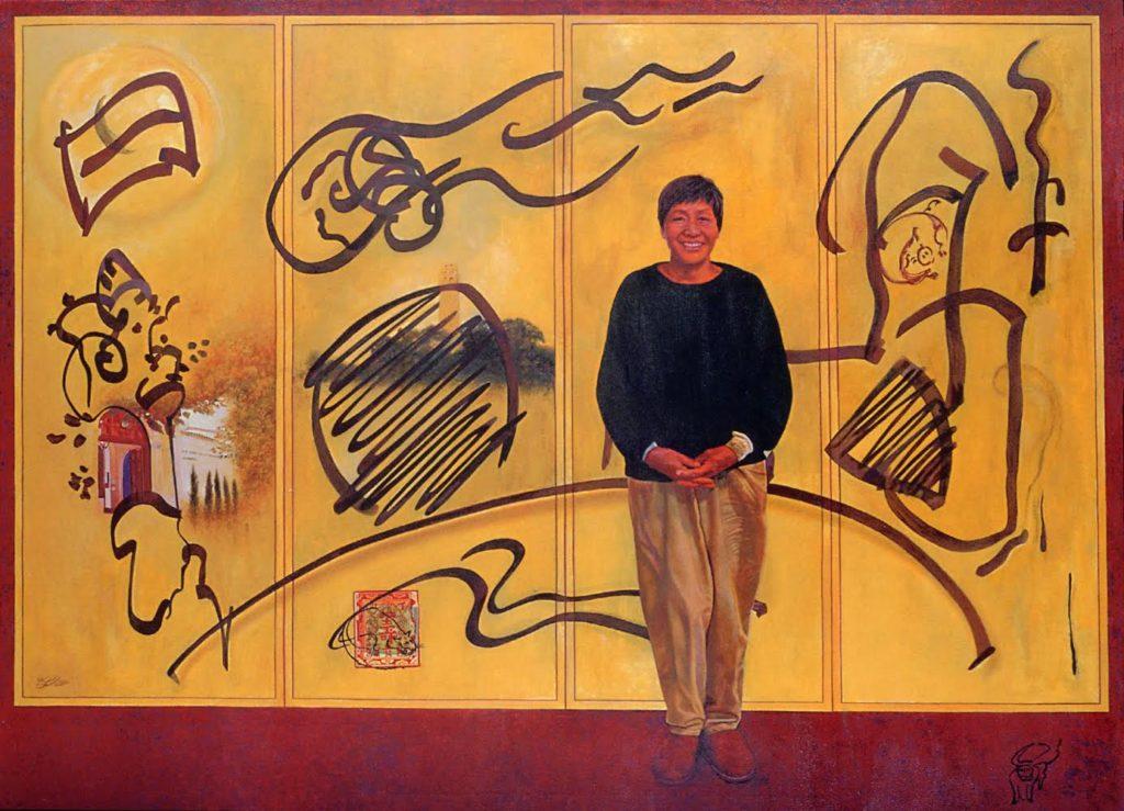 Bing. Acrylic on canvas. (the late Bernice Bing). © 2001.