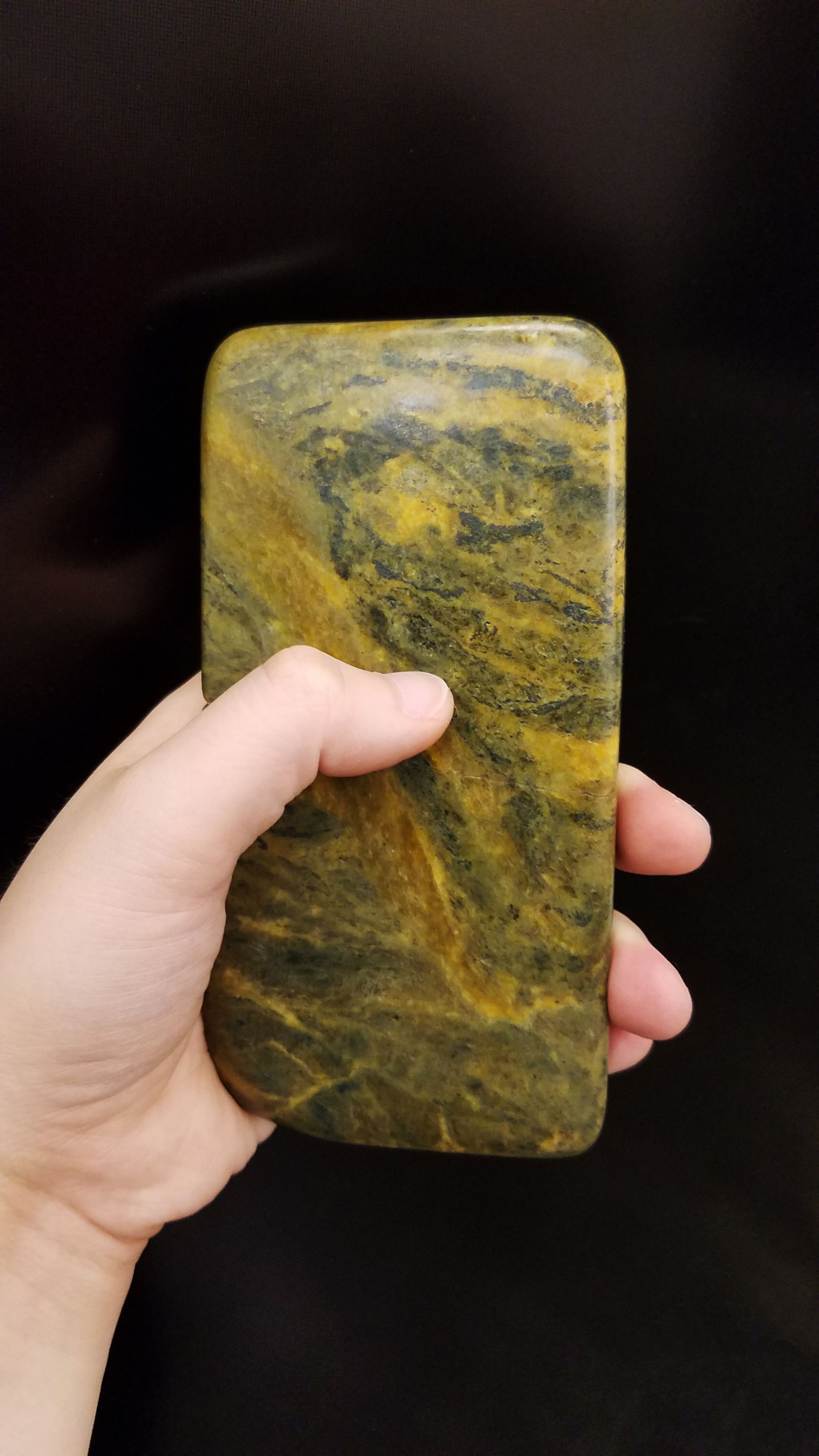 Stone Phone - Soap Stone (2017-ongoing) - Also available in Alabaster and Sand Stone
