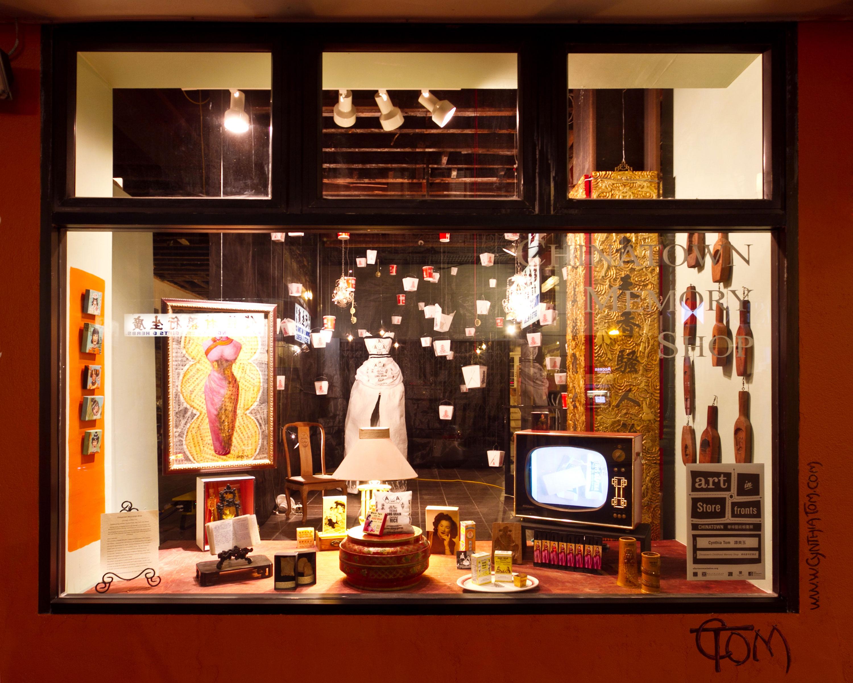 Chinatown Memory Shop_art installation 20' d x 12' w x 12' high_ Cynthia Tom for SF Arts Commission_Photo_credit_Jessica_Watson