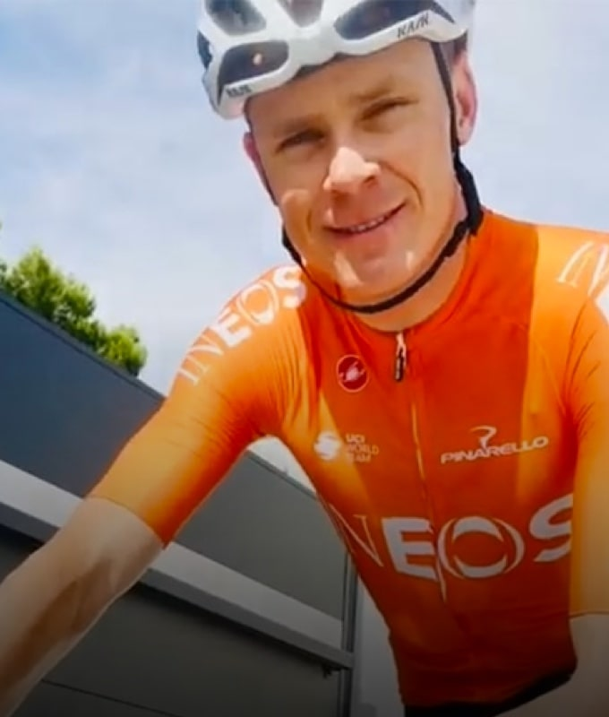 Image of Chris Froome.