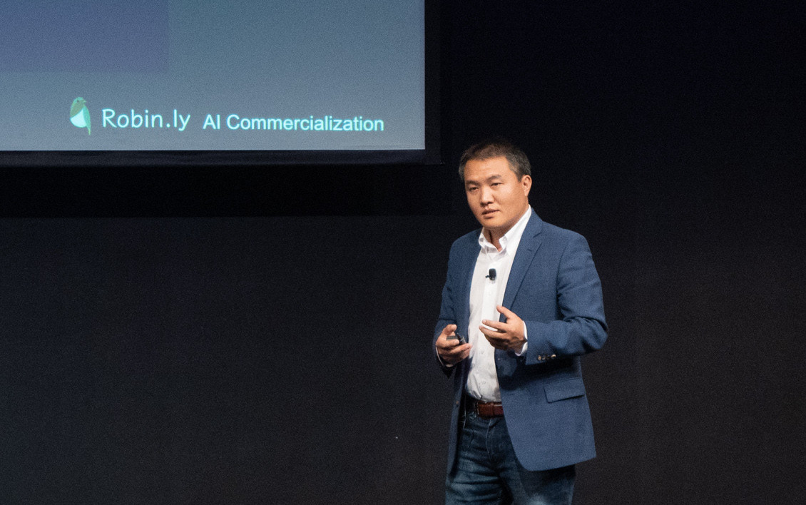 Welcome Message by Alex Ren, Founder of Robin.ly & TalentSeer, Robin.ly AI Commercialization 2019