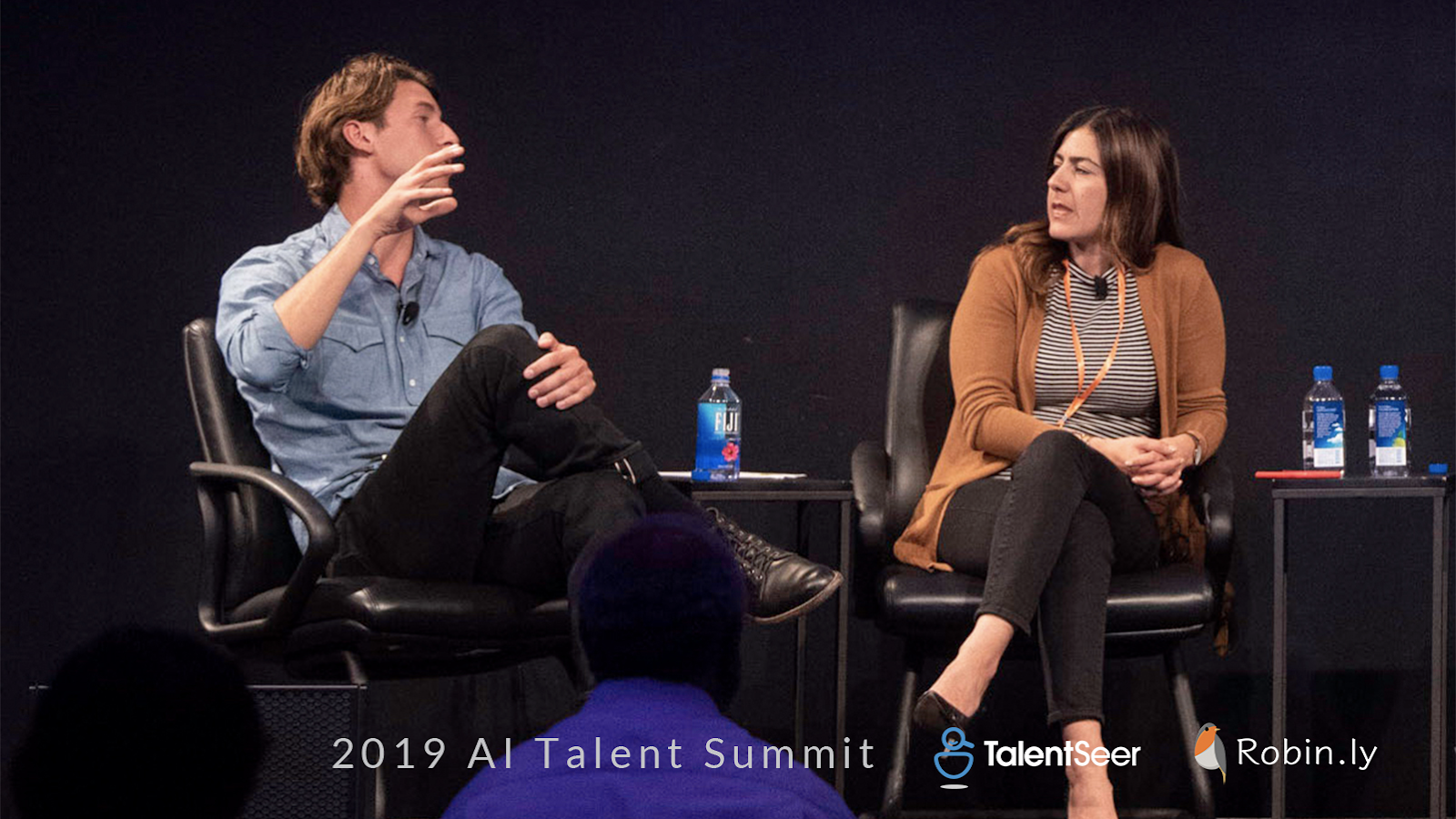 Ted Maguire, Director of Executive Talent @ Khosla Ventures; Georgina Salamy, Director of Talent @ Zoox -  2019 AI Talent Summit Highlights: Building Teams for The Future of AI