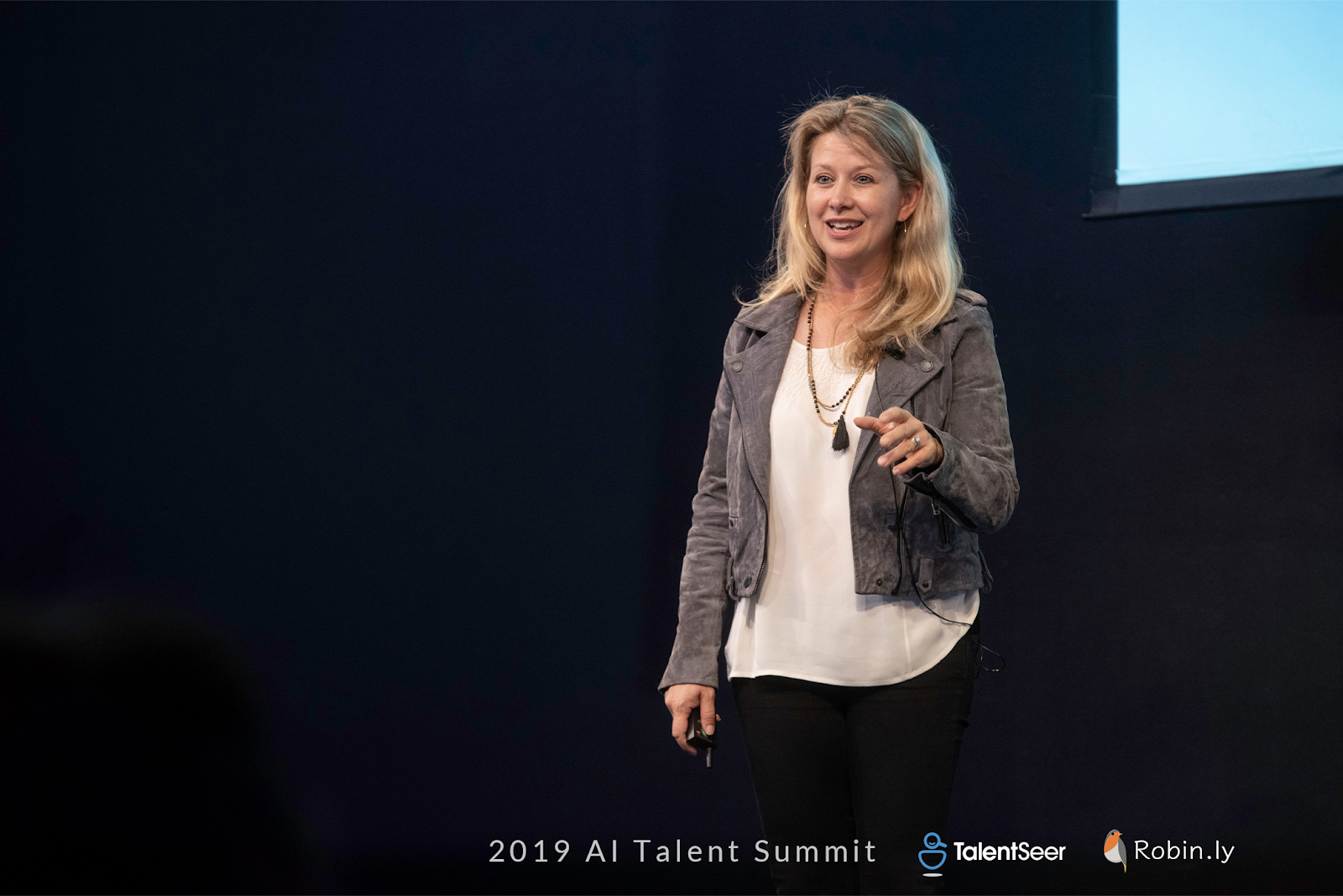 Jennifer Holmstrom, Talent Partner @ GGV Capital -  2019 AI Talent Summit Highlights: Building Teams for The Future of AI