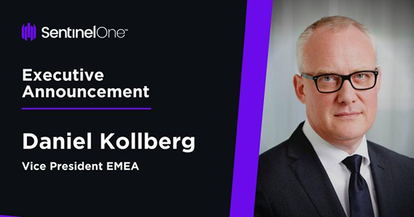 ‍Autonomous Endpoint Protection Company, SentinelOne, Hires Cybersecurity Expert Daniel Kollberg as Vice President of EMEA - TalentSeer AI Talent News 2020 February