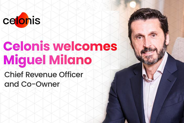 Miguel Milano Appointed as Chief Revenue Officer and Co-Owner at Process Mining Software Startup Celonis_AI Talent News Roundup March 2020 Part 1